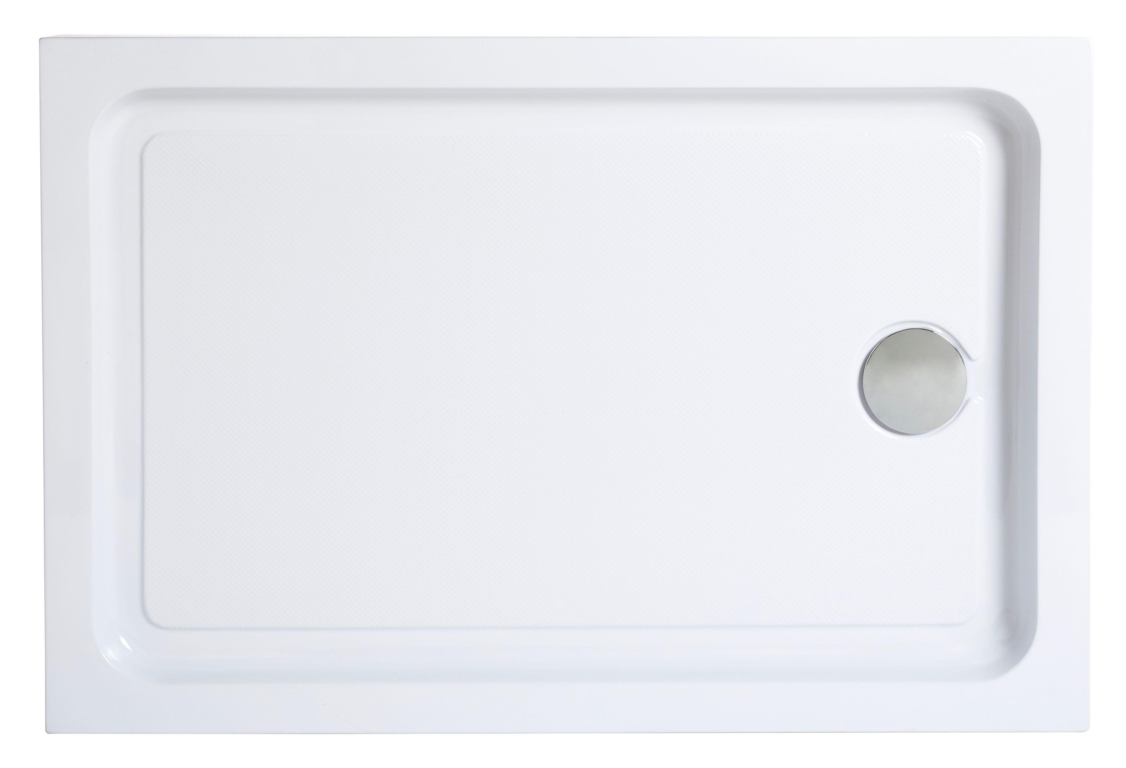 Cooke & Lewis Lagan Rectangular Shower tray (L)1000mm