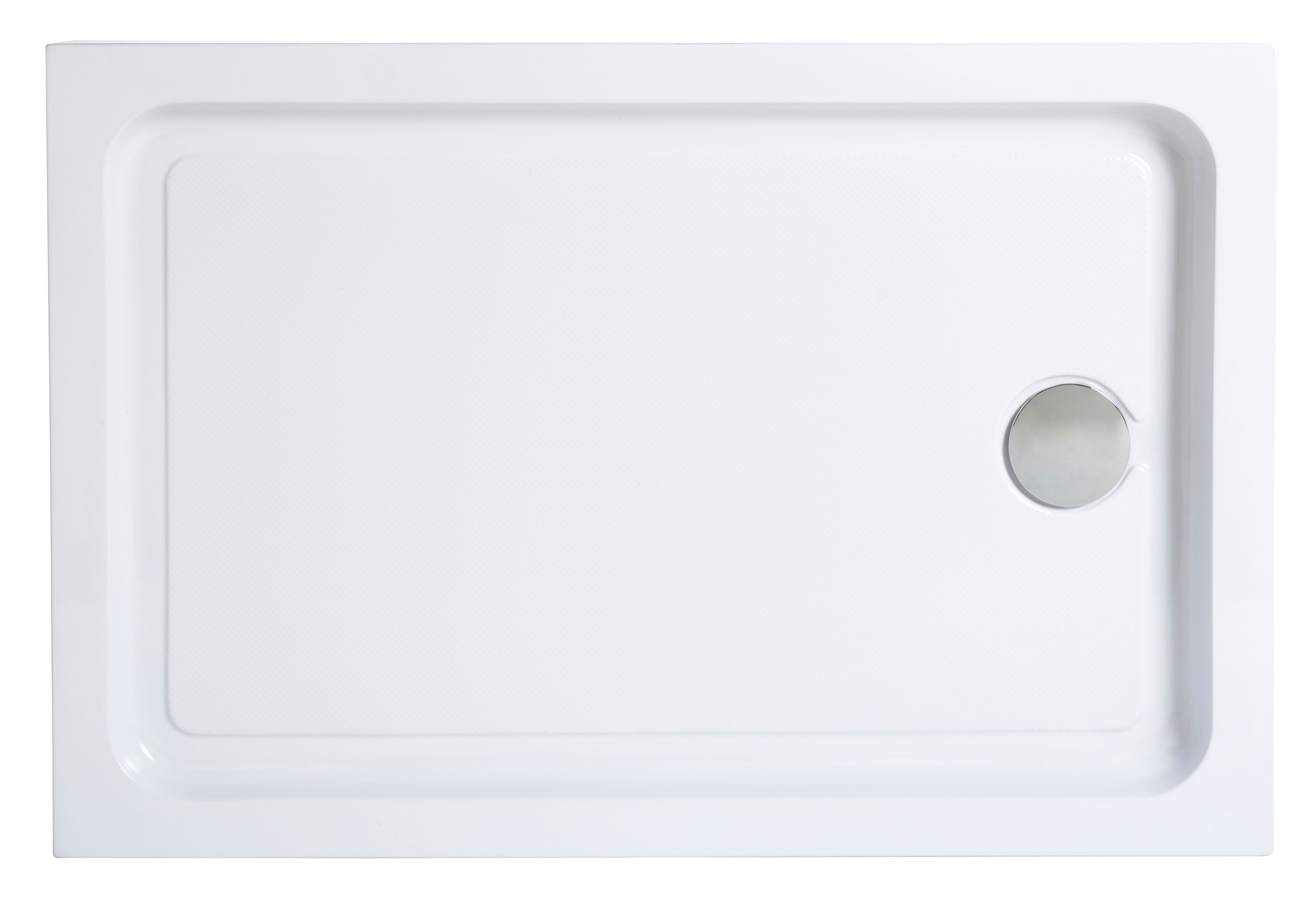 Cooke & Lewis Lagan Rectangular Shower tray (L)1200mm