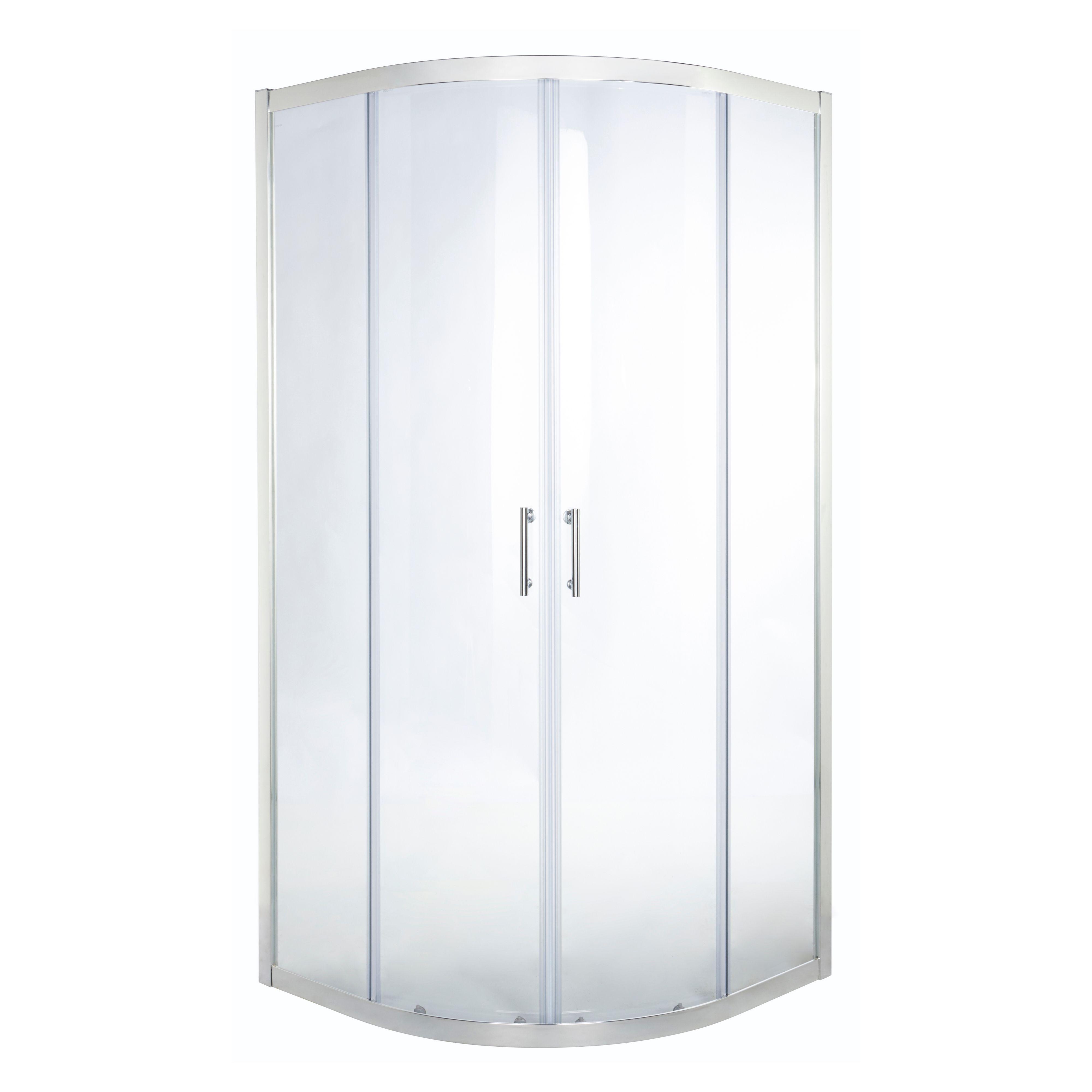 Cooke & Lewis Onega Quadrant Shower enclosure with Corner entry ...