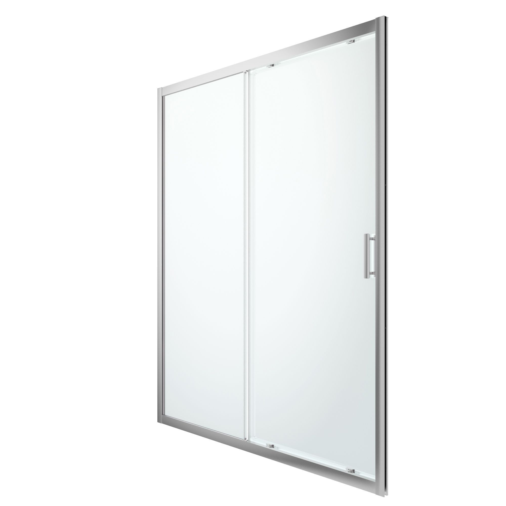 Cooke & Lewis Beloya Shower Door With 2 Panel Sliding