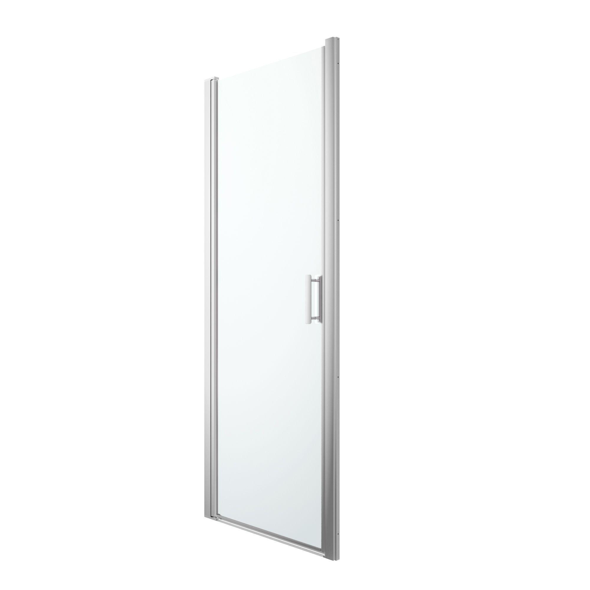 Goodhome Beloya Reversible Pivot Door Shower Door W 760mm Departments Diy At B Q