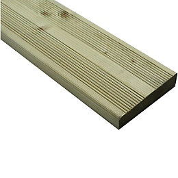 Blooma Nevou Premium Softwood Deck board (T)27mm (W)144mm