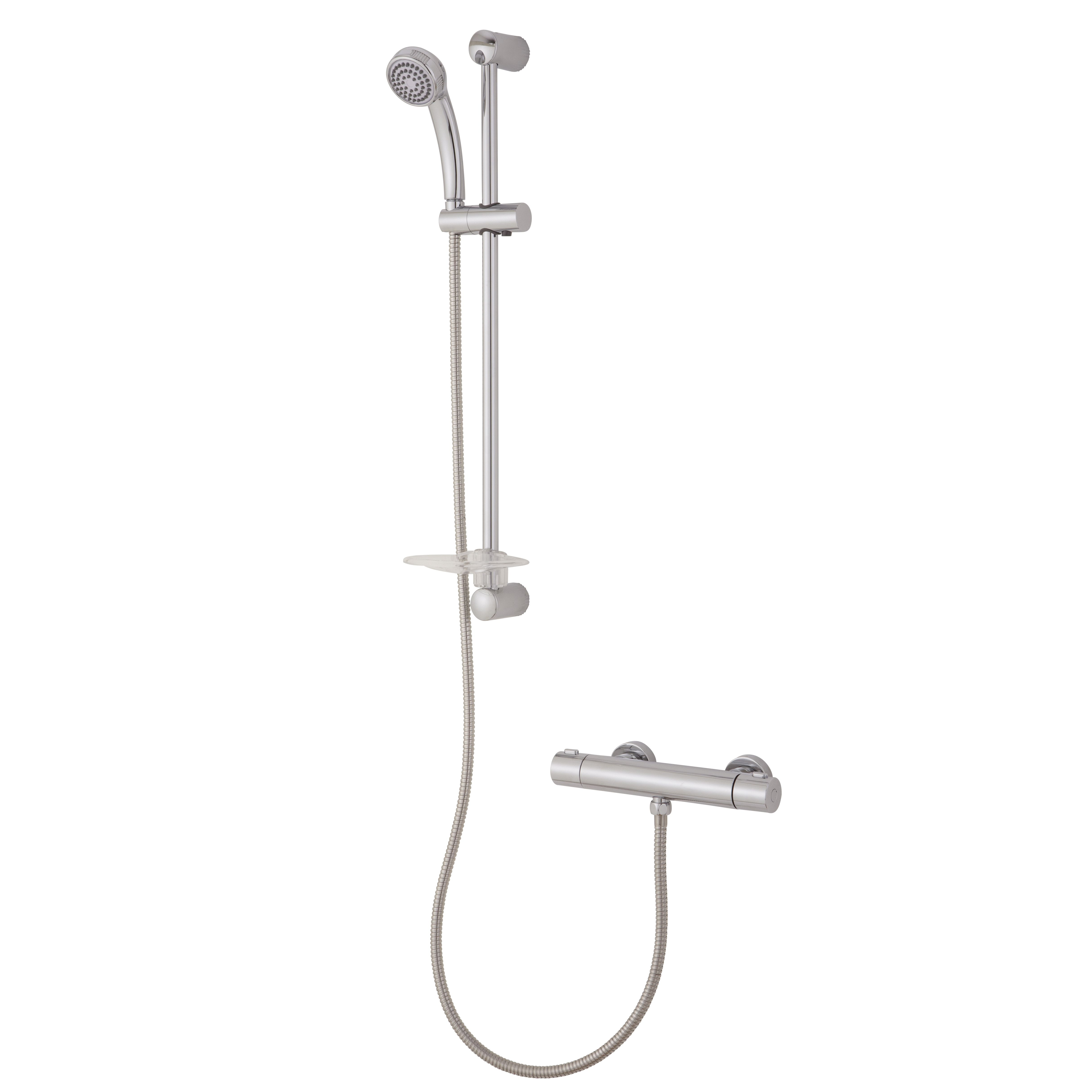 with langer complete shower and mounted pct kit fixed model valve diverter upt bar hand en shop thermostatic slide b head faucet