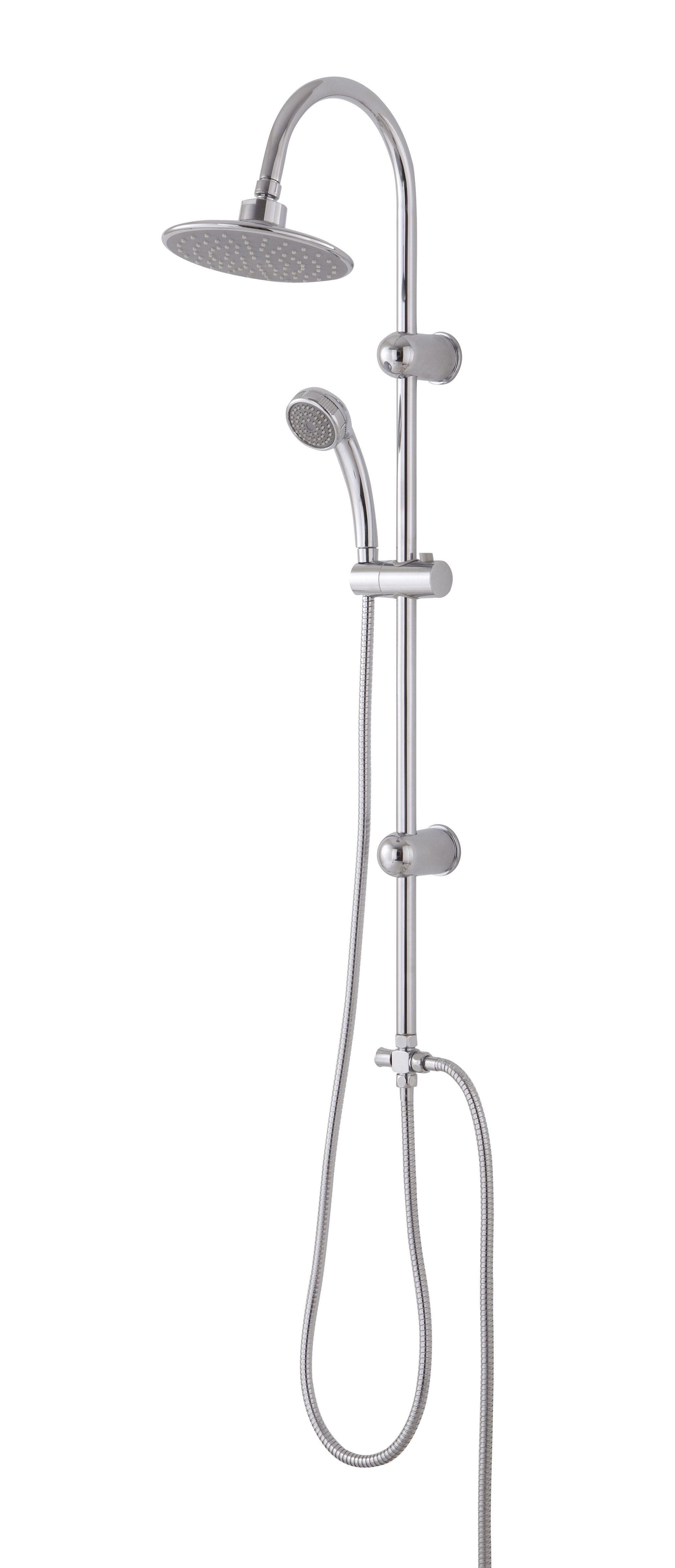 concealed dual products with two arm head including controls thermostatic outlets bar shower outlet round valve productdetail