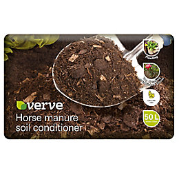 Verve Horse Manure Soil Improver 50L (W)19.45kg