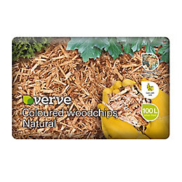 Verve Coloured woodchips 100L
