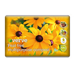 Verve Peat Free Multipurpose Compost 125L