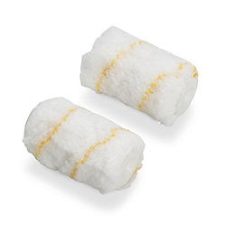 "Diall 2"" Mini Polyamide Roller sleeve Pack of"