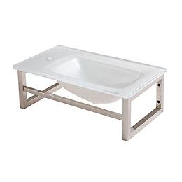 Cooke & Lewis Tapti Cloakroom basin