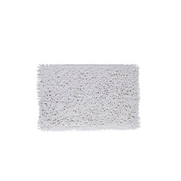 Cooke & Lewis Abava White Polyester Bath Mat