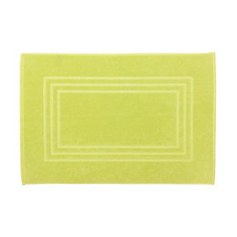 Cooke & Lewis Palmi Green Cotton Bath Mat