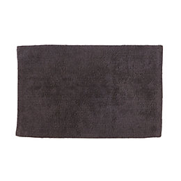 Cooke & Lewis Diani Anthracite Tufty Cotton Anti-Slip
