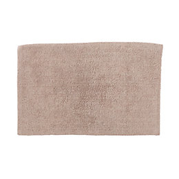 Cooke & Lewis Diani Pebble Tufty Cotton Anti-Slip