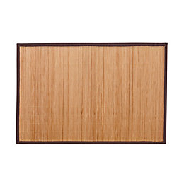 Cooke & Lewis Okaido Wood Bamboo Anti-Slip Bath