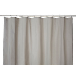 Cooke & Lewis Palmi Greige Shower Curtain (L)1800