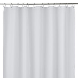 Cooke & Lewis Cecina White Waffle Shower Curtain