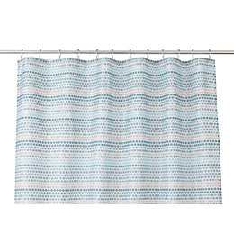 Cooke & Lewis Amaradia Multicolour Dots Shower Curtain