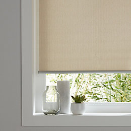 Colours Iggy Corded Natural Roller Blind (L)180 cm
