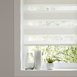 Colours Elin Corded White Roller blind (L)180 cm