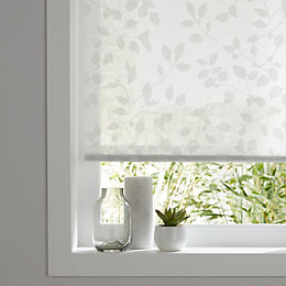 Colours Azurro Corded White Roller blind (L)195 cm