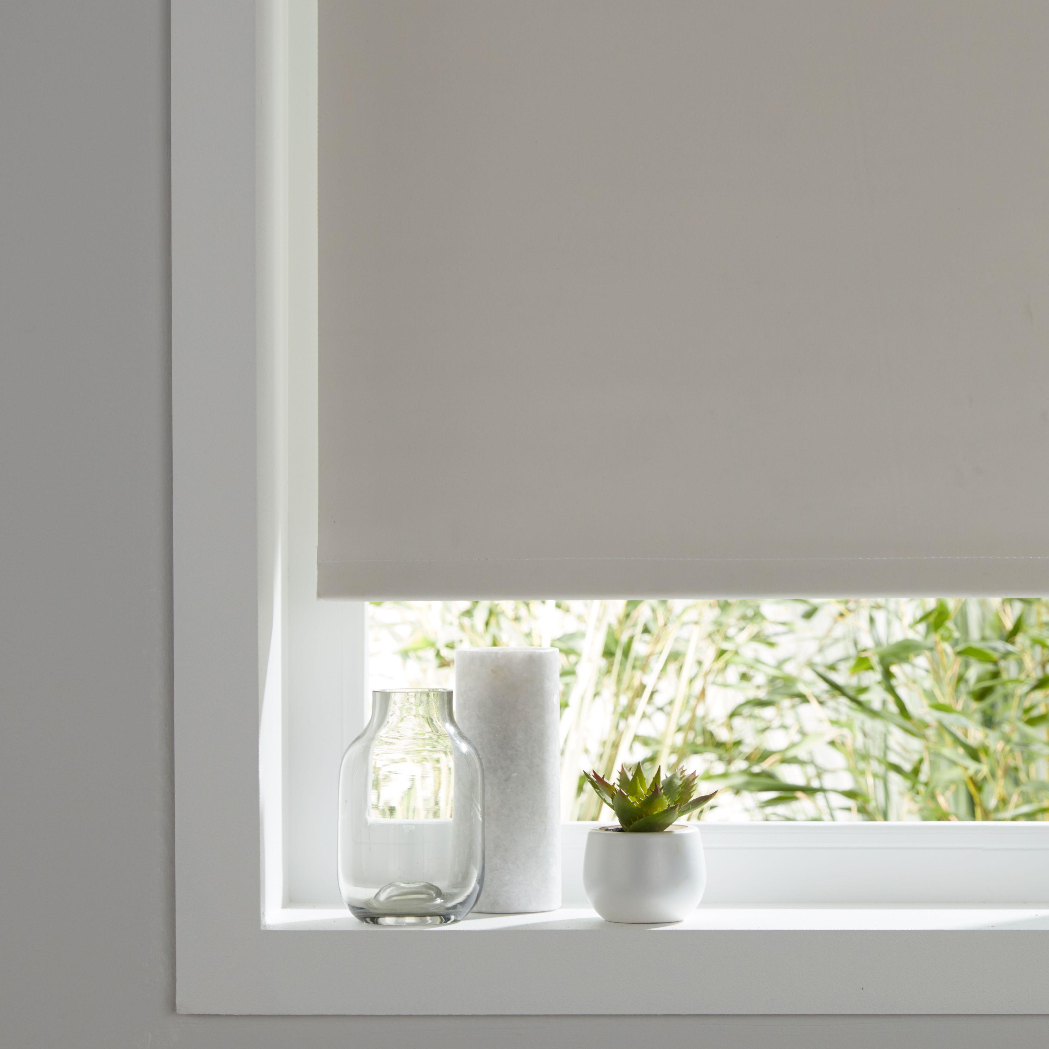 colours boreas corded ivory blackout roller blind l 180. Black Bedroom Furniture Sets. Home Design Ideas