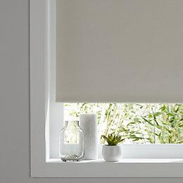 Colours Pama Corded White Roller Blind (L)195 cm