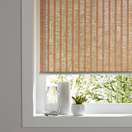 Colours Kimi Corded Natural Roller Blind (L)180 cm