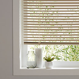 Cream Venetian blind (W)90 cm (L)180 cm