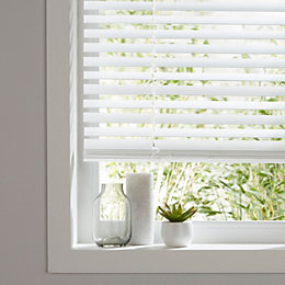Colours Cana White Venetian blind (W)120 cm (L)180
