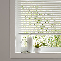 Colours Studio White Venetian blind (W)55 cm (L)180