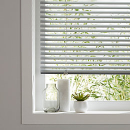 Colours Studio Grey Venetian blind (W)75 cm (L)180