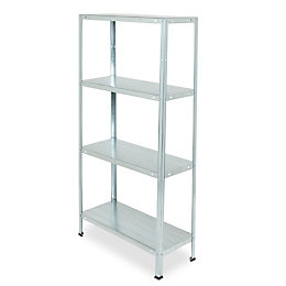 4 shelf Steel Shelving unit