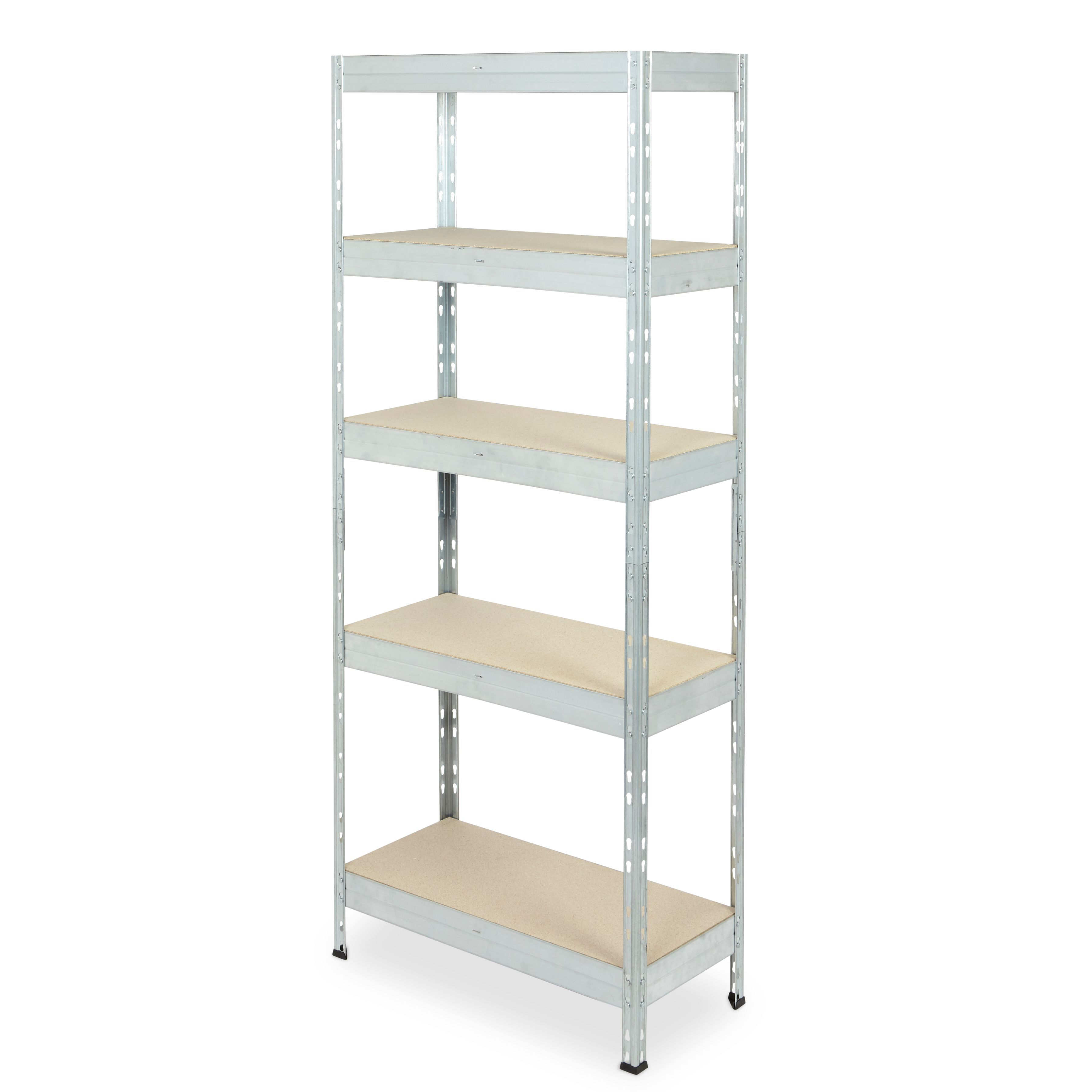 Form Exa Galvanised Shelving Unit (H)1800mm (W)750mm | Departments ...