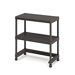 Form Links 2 Shelf Polypropylene Shelving Unit