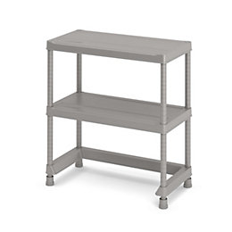 Form Major 2 shelf Polypropylene Shelving unit