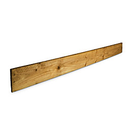 Blooma Treated Timber Feather edge fence board (L)1.8m