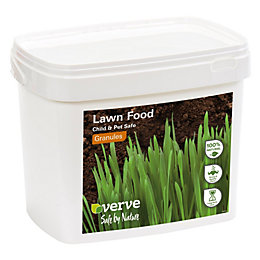 Verve Organic lawn fertiliser with iron sulphate 200m²