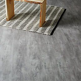 Caloundra Grey Oak effect Laminate flooring 2.467 m²