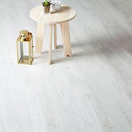 Macquarie White Pine effect Laminate flooring 2.467 m²