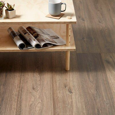 Lismore Dark Oak Effect Laminate Flooring Pack