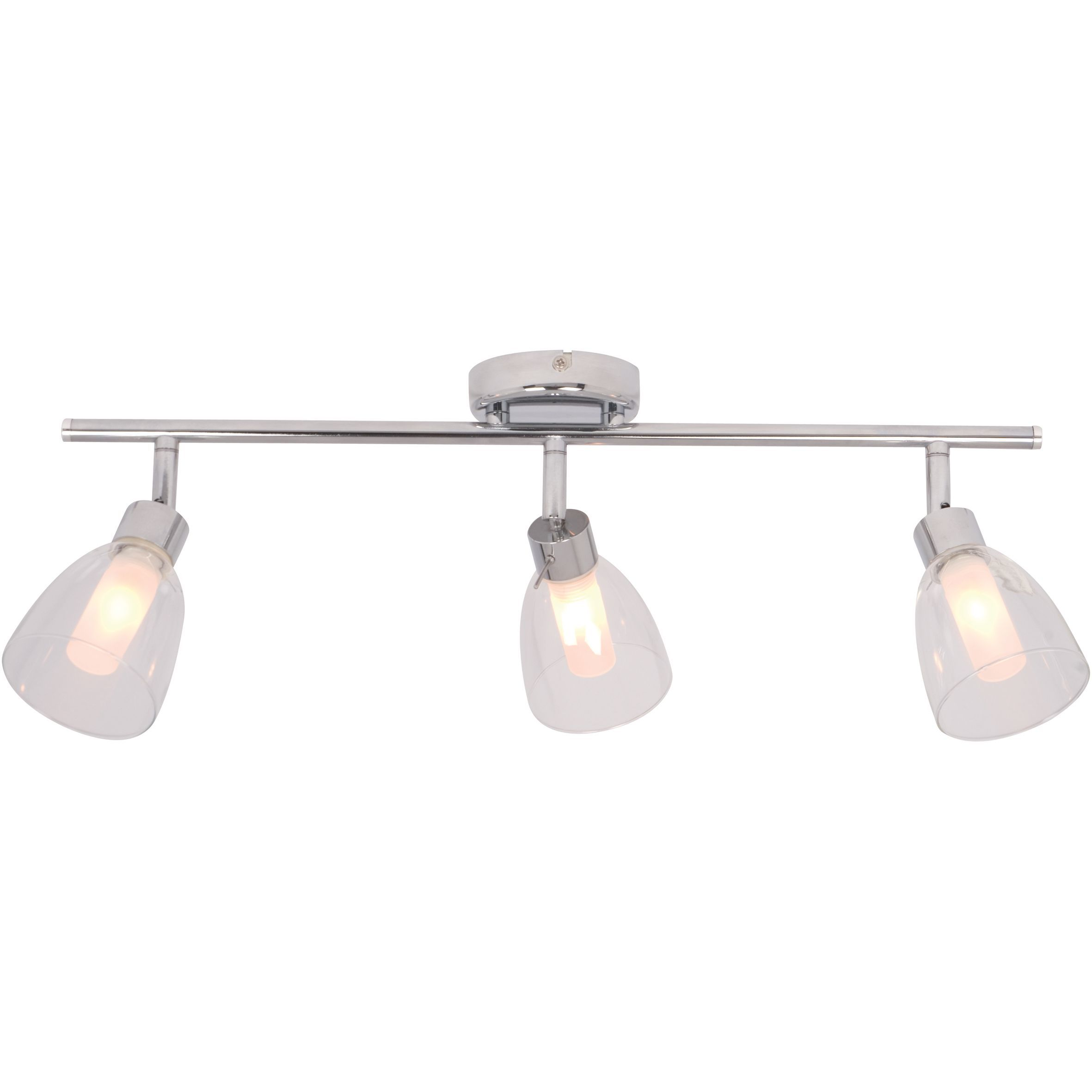 Kitchen Lighting B&q Geni chrome effect 3 lamp bathroom spotlight departments diy at bq workwithnaturefo