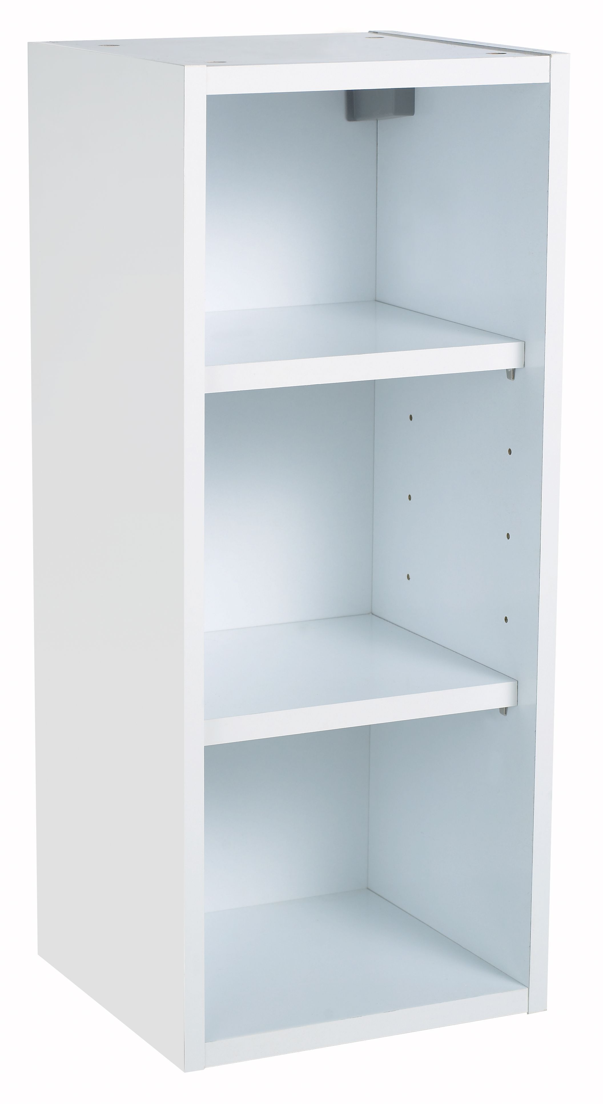 IT Kitchens White Gloss Open Wall cabinet (W)300mm | Departments ...