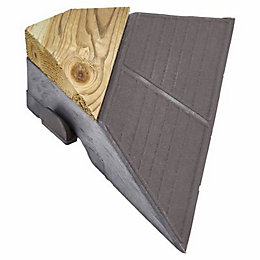 Blooma Impregnated green Softwood Clippable Deck corner (T)73mm