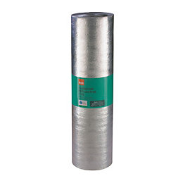 B&Q Radiator Reflector Roll, (L)5m (W)500mm (T)2mm