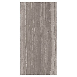 Neos Grey Wood Effect Ceramic Wall Tile, Pack