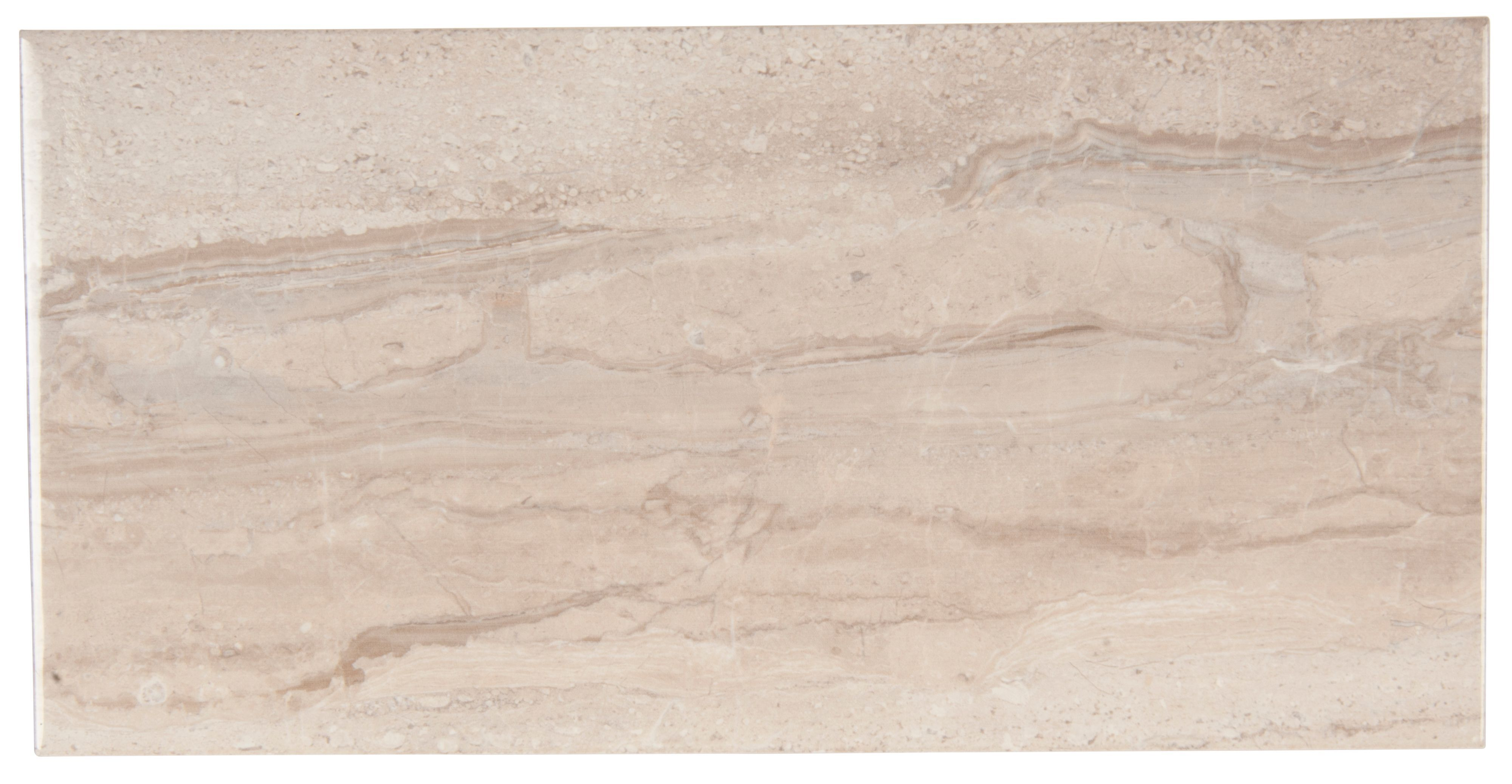 Bali Grey Stone effect Ceramic Wall tile, Pack of 8, (L)500mm (W ...