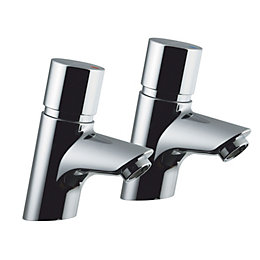 Armitage Shanks Avon 21 Self closing pillar taps