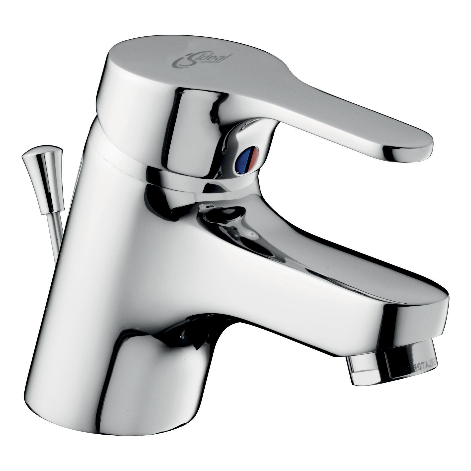 ideal standard alto 1 lever basin mixer tap departments tradepoint. Black Bedroom Furniture Sets. Home Design Ideas
