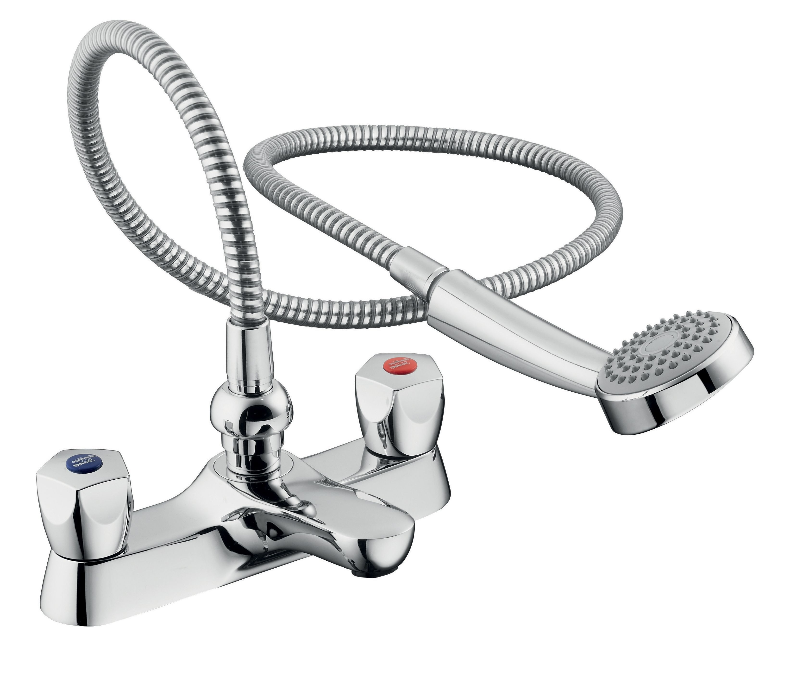 Armitage Shanks Sandringham Chrome Bath Shower Mixer Tap ...