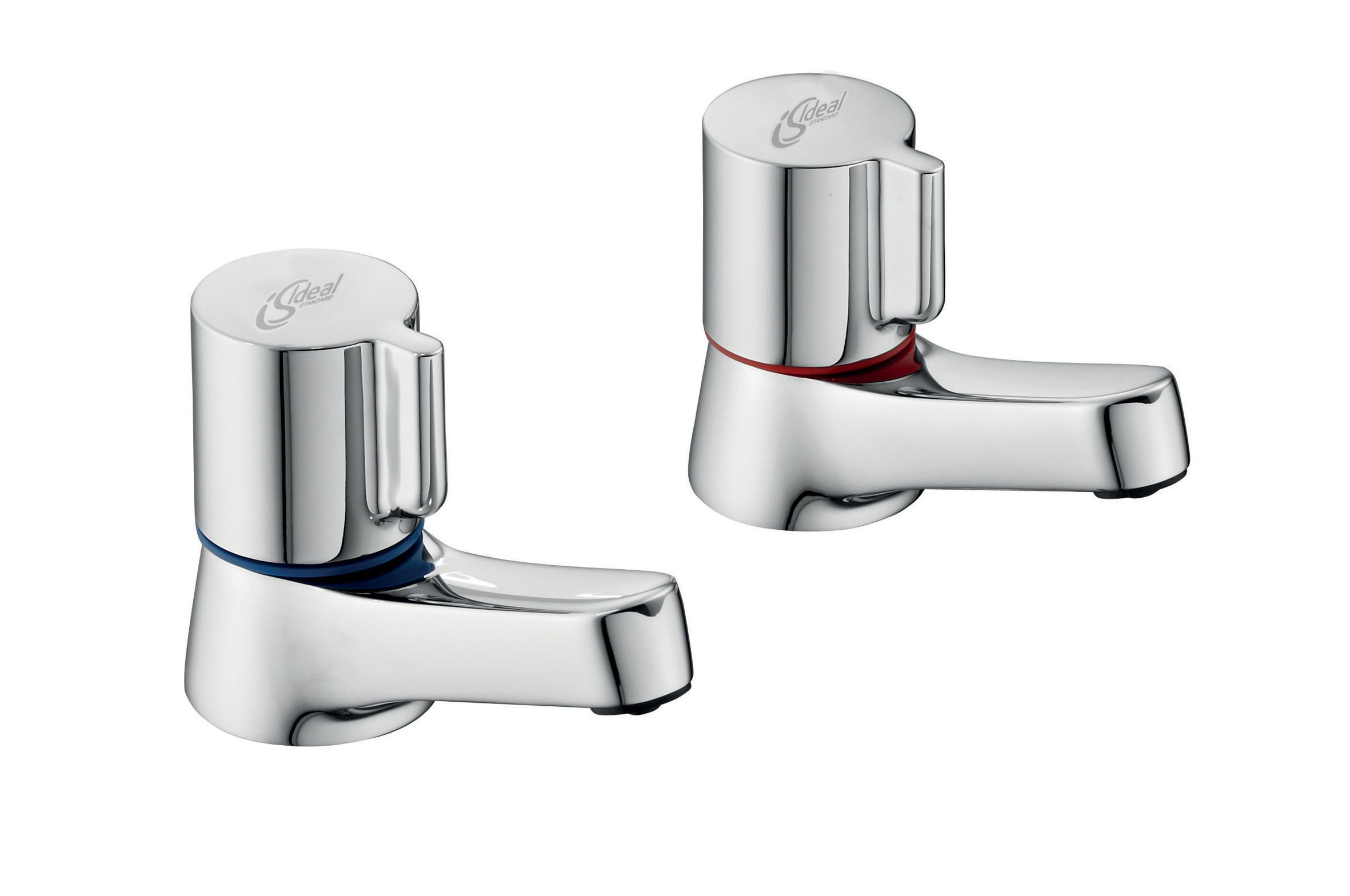 Ideal Standard Alto Hot & Cold Basin Pillar Tap | Departments | DIY ...